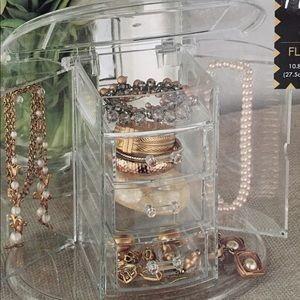 unbranded Accessories - JEWELRY CASE | flip top acrylic